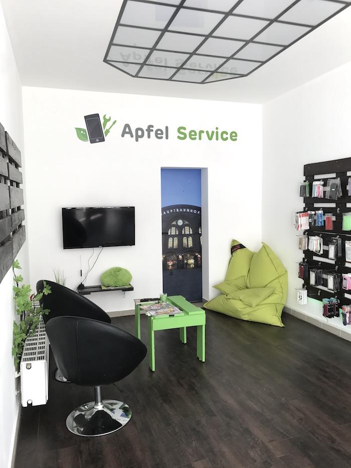 Apfel Service Bremen Wartebereich