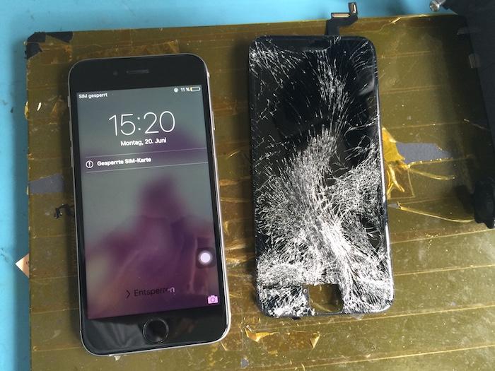iPhone 6S Displaywechsel Apfel Service